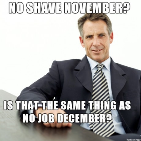 no job december