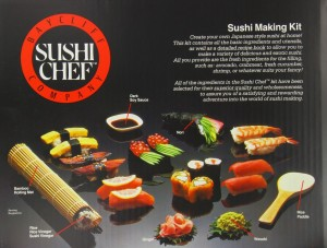 Sushi Chef: she will love it!