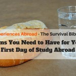 items you need for study abroad