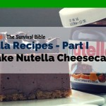 Nutella Recipes That Will Make Your Day – Part 1 – No Bake Nutella Cheesecake